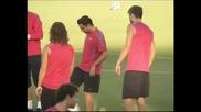 """Чави се контузи и пропуска няколко срещи на """"Барселона"""""""