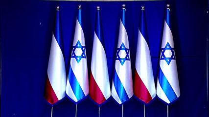 Israel: Netanyahu greets Macron in Jerusalem ahead of Holocaust memorial
