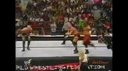 Raven & Justin Credible w/ Terri vs. Scotty 2 Hotty & Perry Saturn - Wwf Heat 07.10.2001