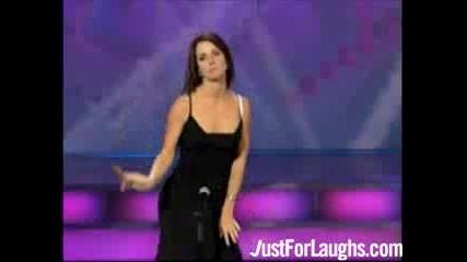 Жена свири с интимните си части в шоу предаване на живо(талант)