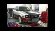 Audi 90 Quattro Turbo на Dyno [780 Ps / 920 Nm]