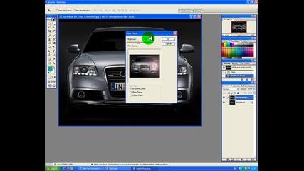 Как да светнете фаровете на кола с Photoshop [hq]