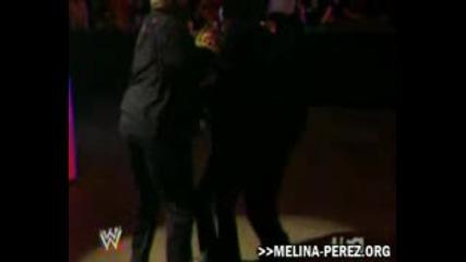 Melina Attacked By Rosa, Beth And Jillian (12.1.09 Raw)