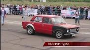 Ваз 2101 Турбо vs Toyota Mr2