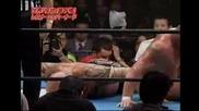 Брок Леснар Срещу Гиганта Бернард - New Japan 2006