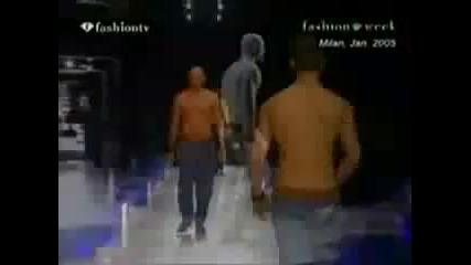 Dolce Gabbana Fashion Pubic Pants [ 2005 ]