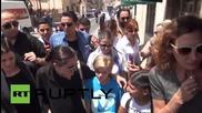 Анджелина Джоли в Мидиат за Световния ден на бежанците