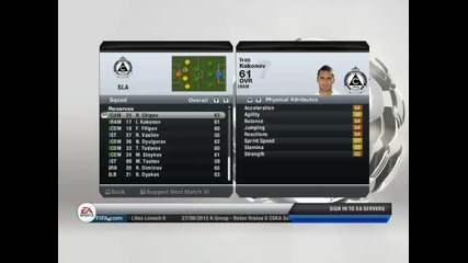 Fifa13 manager mode Slavia S1 Ep2