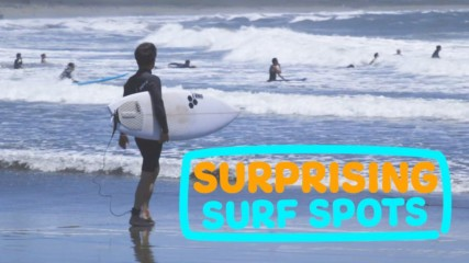 Surprising Surf Spots: Escape packed Tokyo for Japanese waves