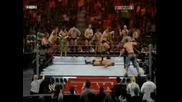 John Cena & Randy Orton vs. 17 Men - Raw 17.03.08