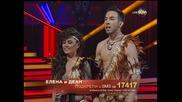 Dancing Stars - Елена Георгиева и Деан - елиминации (08.05.2014)