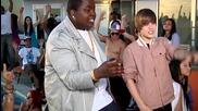 E X L U S I V E !!! Кадри от видеото на Justin Bieber ft. Sean Kingston - Eenie Meenie ~ New ~