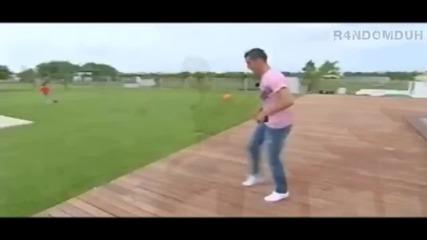 Freestyle на Cristiano Ronaldo - 2010
