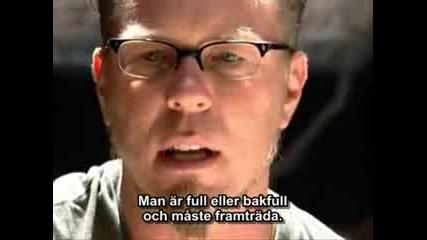 James Hetfield talks
