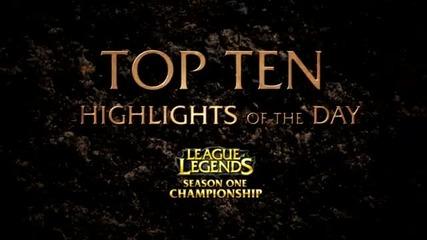 Highlights - Season One Champion ship Top 10 Of Day 2