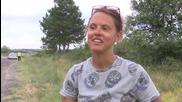 28-годишна студентка от Лондон на околосветско пътешествие с колело минава през България