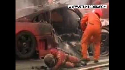 Катастрофа Със Състезателна Кола