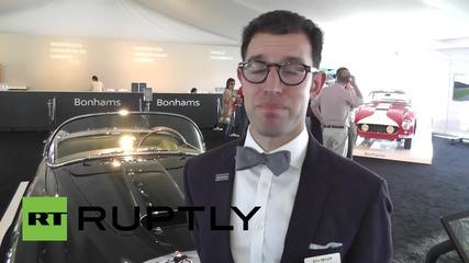САЩ: Луксозни ретро автомобили на стойност до 12 милиона долара ще бъдат продадени на търг