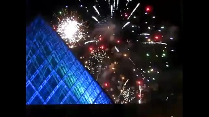 2011 New Years Fireworks on Canada Amazing