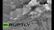 Syria: Russian Air Force obliterate arms depot in Hama