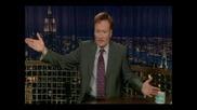 Как Един Водещ Може Да Полудее - Conan Obrien -Супер смях