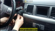 Prodecoder Hu100 -opel Vectra on Door and Ignition