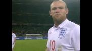 Уейн Руни атакува феновете на Англия