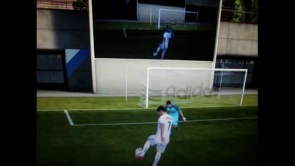 Fifa 11 - Beautiful goal with Ronaldo