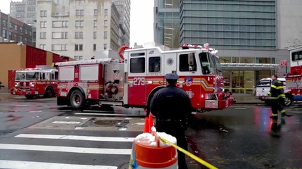 USA: Wall Street worker killed after crane collapses in NYC, three injured