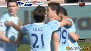 Манчестър Сити се доближи до Юнайтед след успех над Уулвърхамптън с 2;0