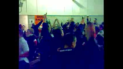Stoke City,  bar chat with Leicester Fans