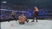 Snapmare + Low Angle Dropkick - Kane