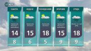 Прогноза за времето на NOVA NEWS (23.04.2021 - 14:00)