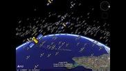 Ето колко сателита обикалят Земята!