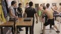 Тренировка по канадска борба на момчетата от Благоевград