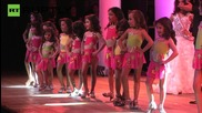 Venezuelan Four-Year-Olds Compete in Beauty Pageant