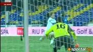 Гола на Младенов срещу Спортинг Лисабон