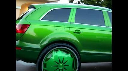 Зверско Audi Q7