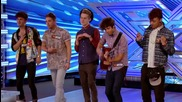 The X Factor Uk 2013 - The Kingsland boys sing Don't You Worry Child - Room Auditions Week 3