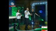Александър,  Димитър и Васил - трио Music Idol 3