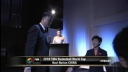С Яо Минг начело Китай взе Световното по баскет през 2019-а