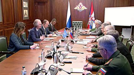 Russia: Shoigu and UN's Pedersen discuss Syrian settlement