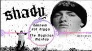 Здрав Басс • Eminem - Hot Nigga •» 7he Magician Mashup • 2014 •