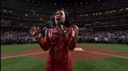 Адски мощен глас! Demi Lovato пее националния химн на Америка в Ню Йорк