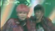 (hd) B.a.p - Power ~ Inkigayo (03.06.2012)