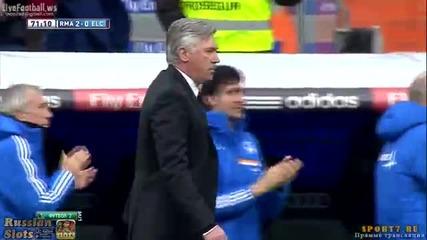 Гарет Бейл наниза страхотен гол срещу Елче 22.02