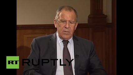 "Russia: ""We stand for the formation of a united front against terrorism""- Lavrov"