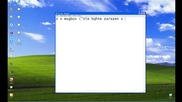 Kak da si napravim virus 4rez notepad