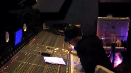 Costi Ionita в студиото на P. Diddy заедно с Mario Winans