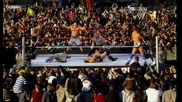 John Cena, Randy Orton and Rey Mysterio vs The Miz, Wade and Alberto Tribute To The Troops 2010